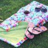 Let's Go Fishin Lime Adorable Playful Beach Towel