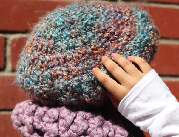 Turquoise Dream Adorable Slouchy Beret Style