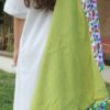 Flip Flop Nation Unique Lime Colored Fun-filled Beach Towel